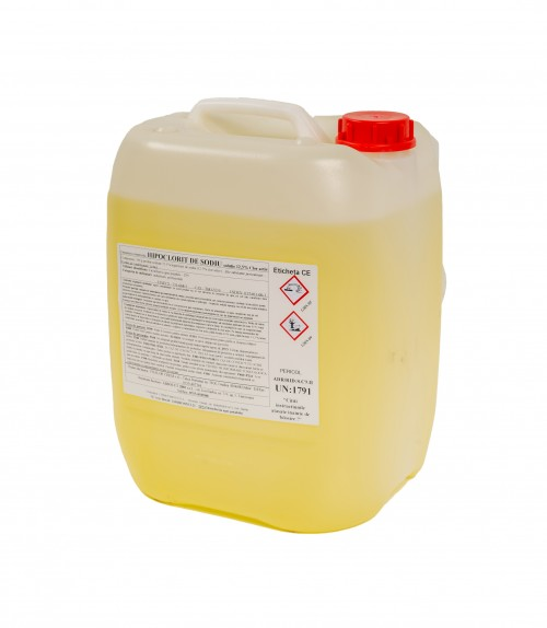 Hipoclorit de sodiu 12,5 % clor activ