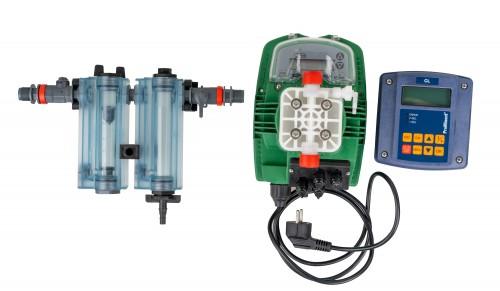 Sistem automat de dozare hipoclorit cu analizor de clor