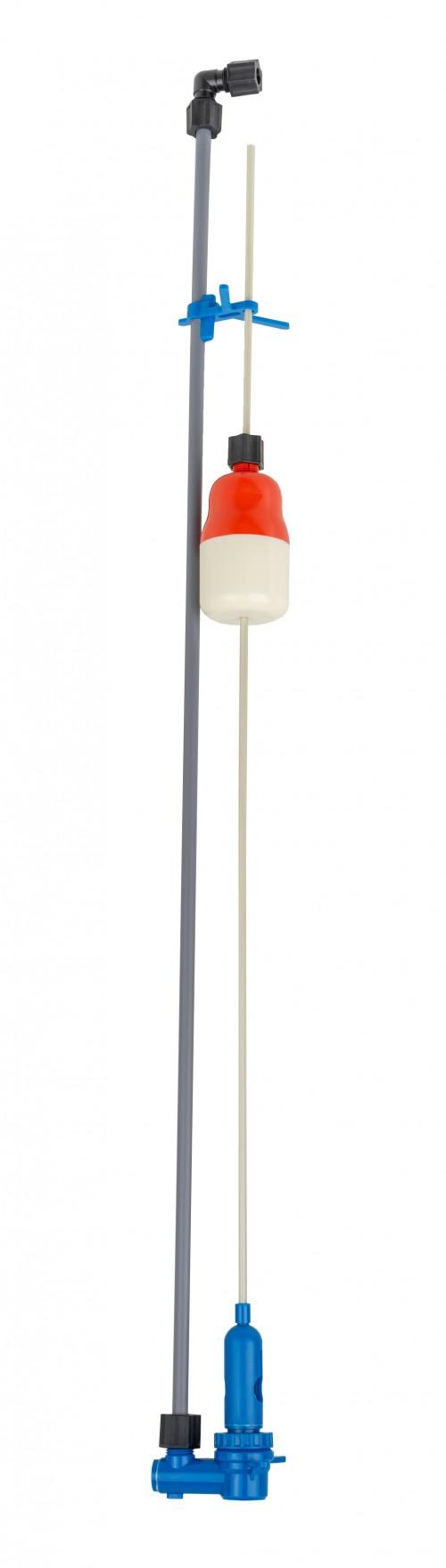 Plutitor mecanic vas saramura